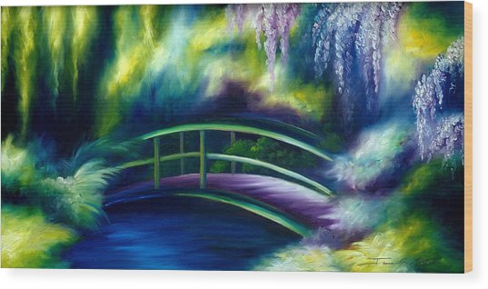The Gardens Of Givernia Wood Print