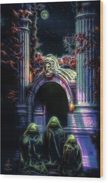 The Gate Keepers Wood Print