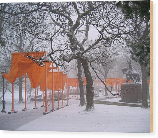 The Gates And The Polish King Wood Print