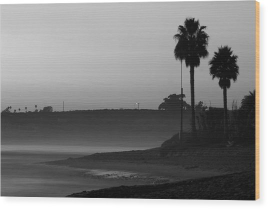 The Ghost Tide Of San Onofre  Wood Print by Brad Scott