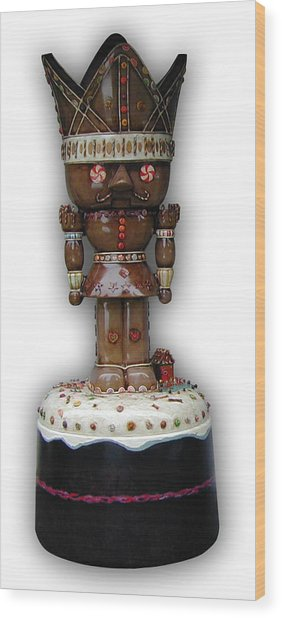 The Gingerbread King Wood Print by Paul Illian
