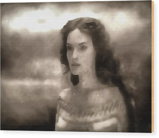 The Goddess Hera Wood Print