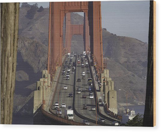 The Golden Gate Wood Print
