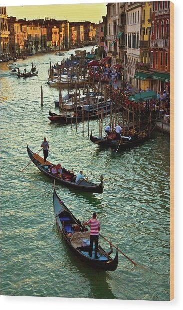 The Grand Canal Venice Wood Print