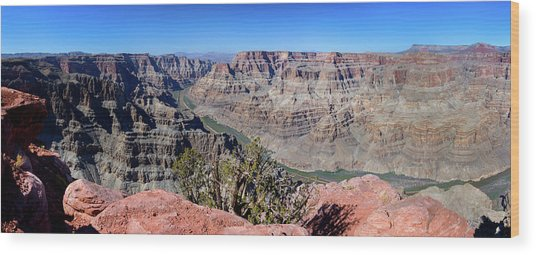 The Grand Canyon Panorama Wood Print