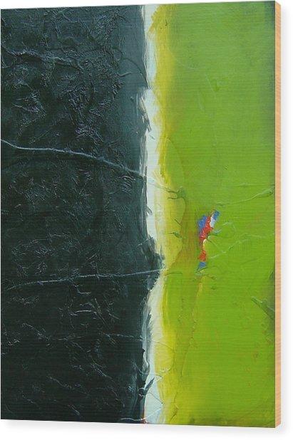 The Grass Is Always Greener Wood Print by Nicole Lee