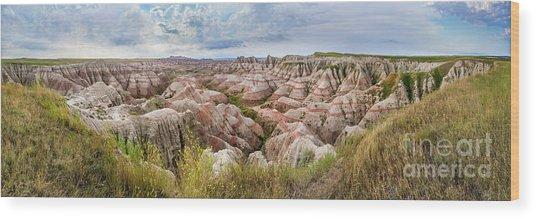 Deep And Wide Panorama Wood Print
