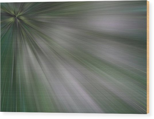 The Green Array Wood Print