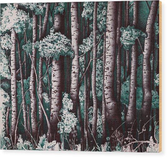 The Grove At Sand Creek Wood Print