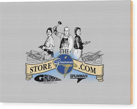 The Grumman Store Wood Print