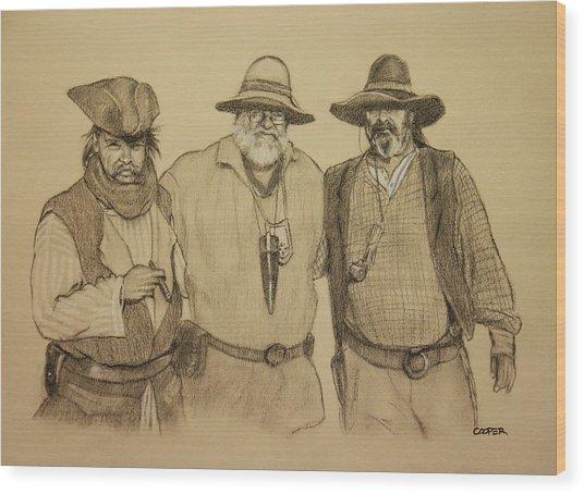 The Halloweeners Wood Print