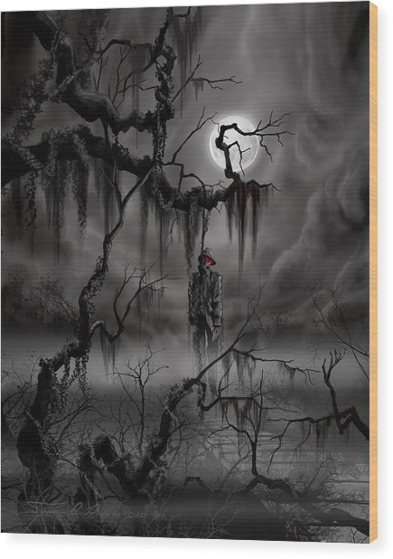 The Hangman Wood Print