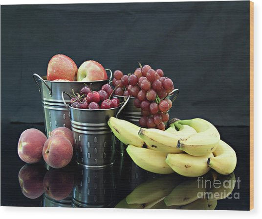 The Healthy Choice Selection Wood Print