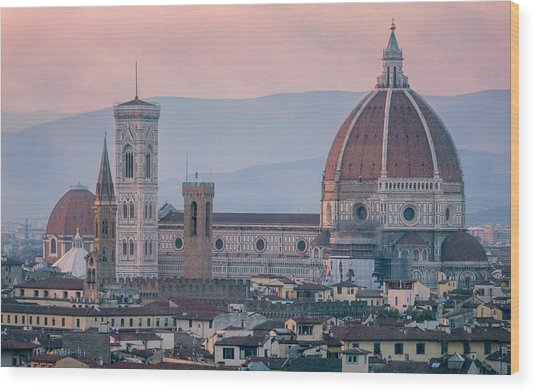 The Heart Of Florence Italy Wood Print