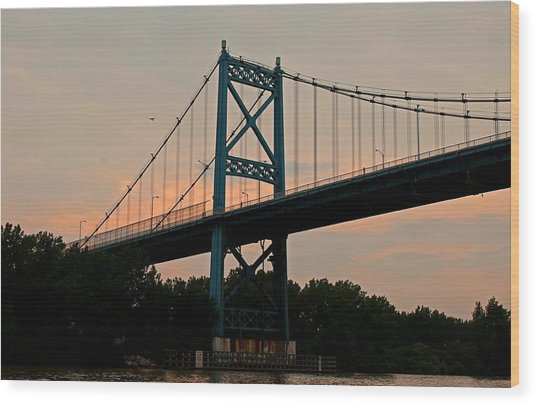 The High Level Aka Anthony Wayne Bridge I Wood Print
