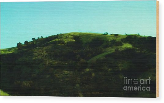 The Hills Wood Print by Jamey Balester
