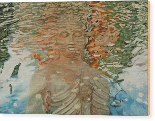 The Hindrance Of Sensual Desires Wood Print by Allan OMarra