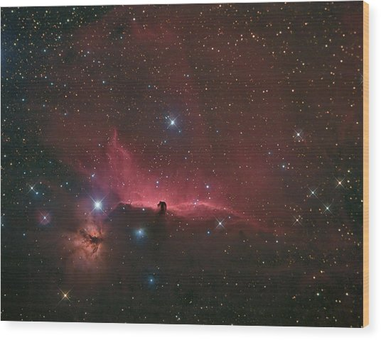 The Horsehead Nebula Wood Print