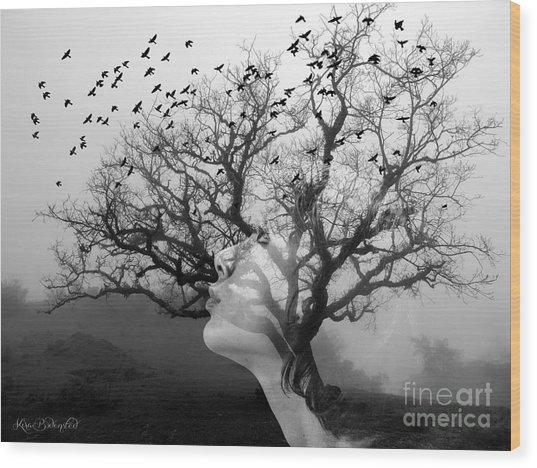 The Hostess Tree Wood Print