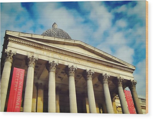 The House Of Art Wood Print by JAMART Photography