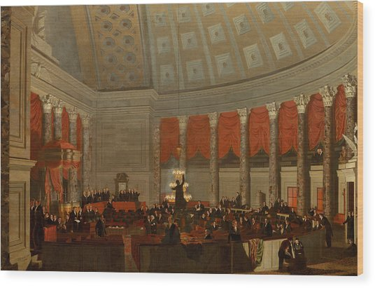 The House Of Representatives Wood Print