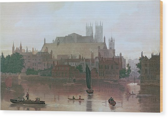 The Houses Of Parliament Wood Print