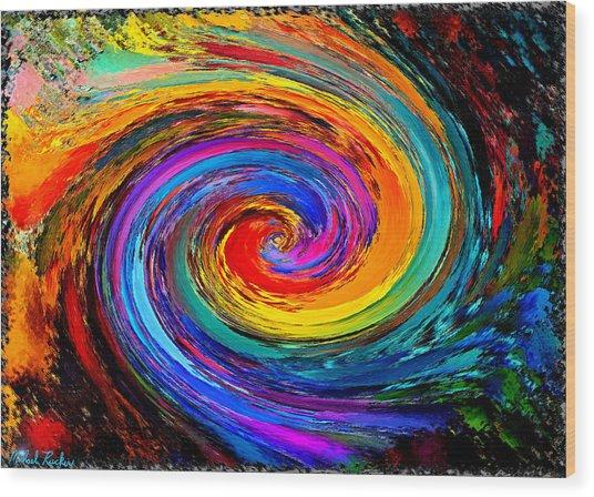 The Hurricane - Abstract Wood Print
