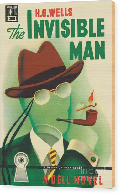 The Invisible Man Wood Print