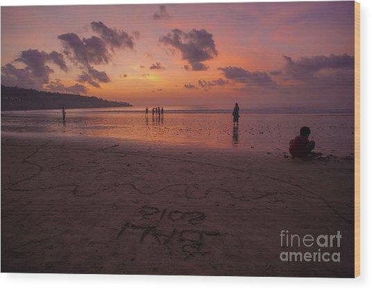 The Island Of God #15 Wood Print