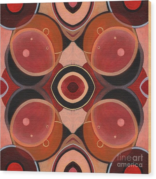 The Joy Of Design 43 Arrangement 1 Wood Print