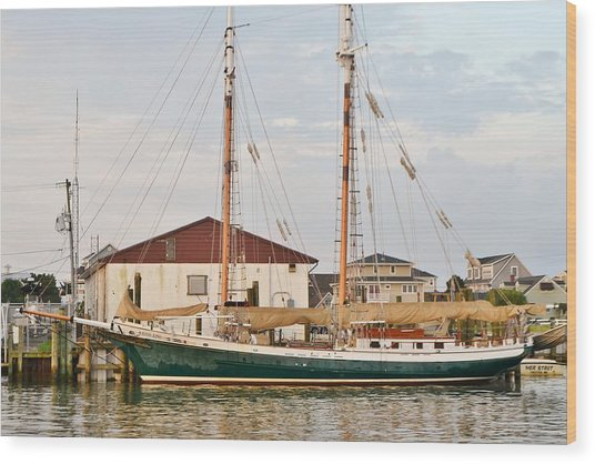 The Kaiui Ana - Ocean City Maryland Wood Print