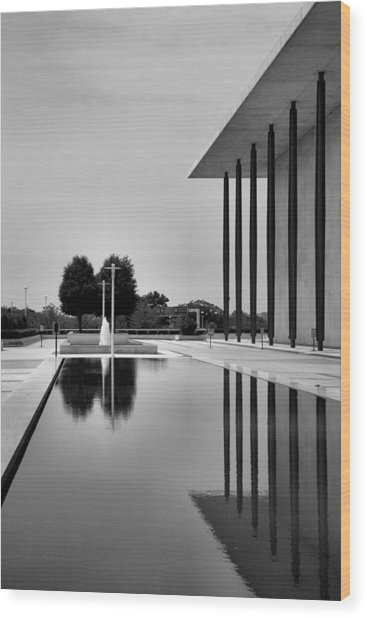The Kennedy Center Wood Print