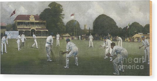 The Kent Eleven Champions, 1906 Wood Print