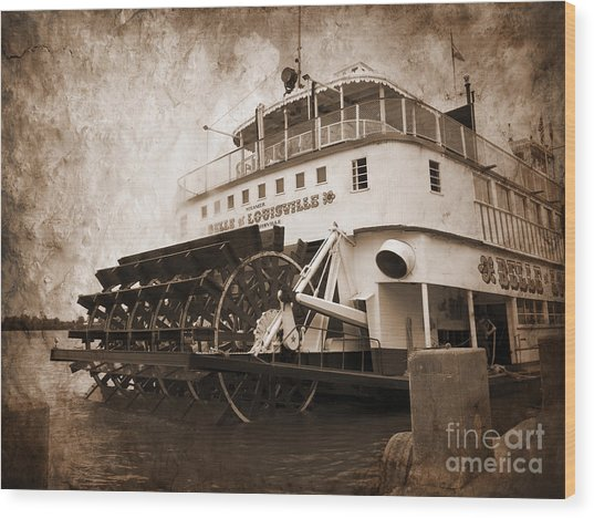 The Kentucky Belle Of Louisville  Wood Print
