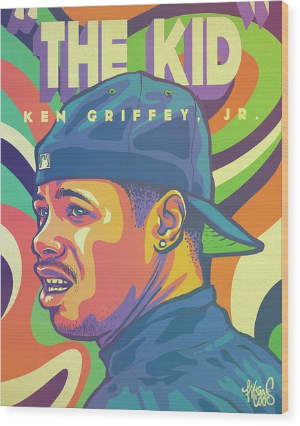 6679c64c14 Ken Griffey Jr Wood Prints and Ken Griffey Jr Wood Art | Pixels
