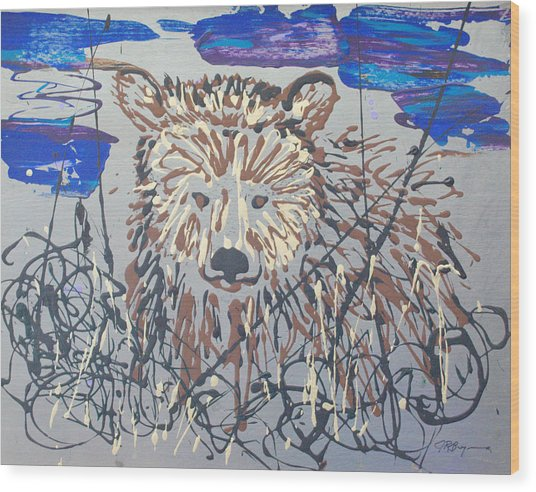 The Kodiak Wood Print