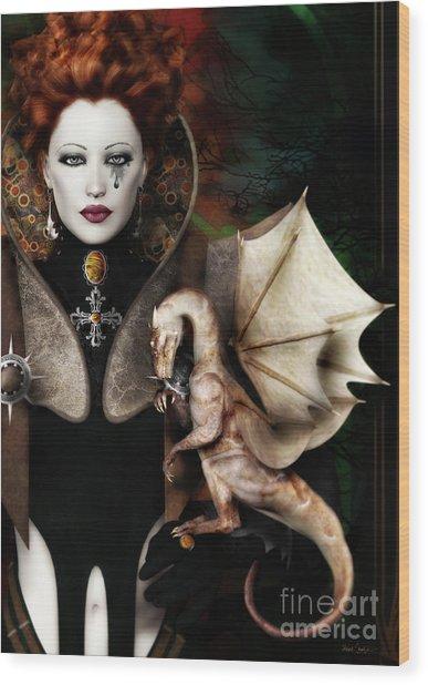 The Last Dragon Wood Print