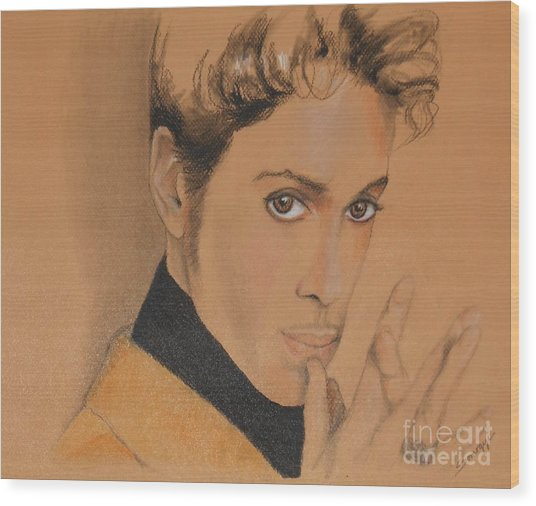 The Late Prince Rogers Nelson Wood Print
