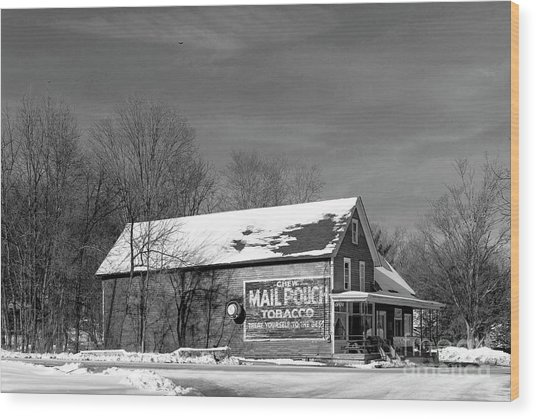The Layton Country Store Wood Print