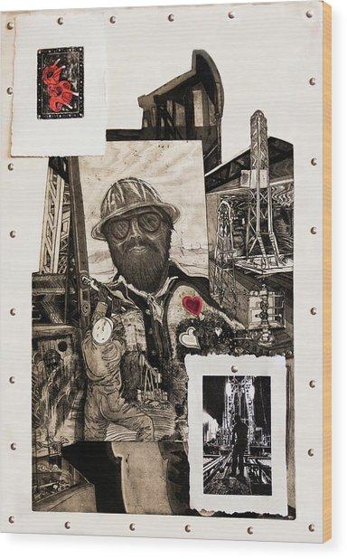The Legend Of Riggo Maddix Wood Print