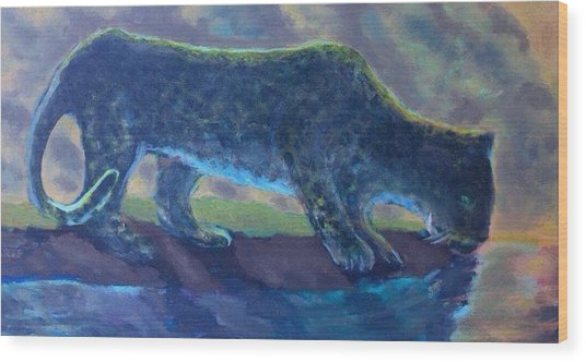 The Leopard Wood Print