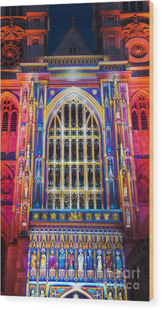 The Light Of The Spirit Westminster Abbey London Wood Print