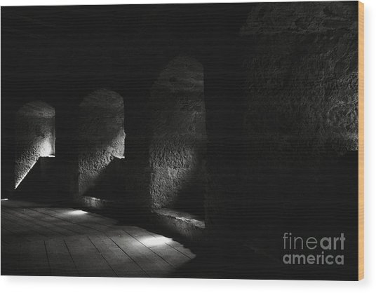 The Light Through Time Wood Print by Hideaki Sakurai