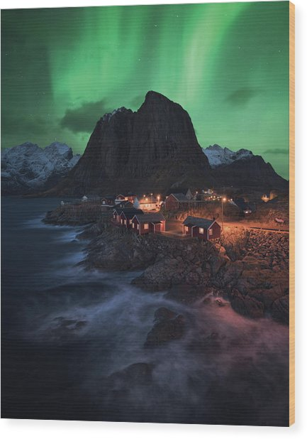 The Lofoten Dream Wood Print