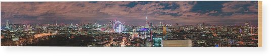 The London Skyline Wood Print