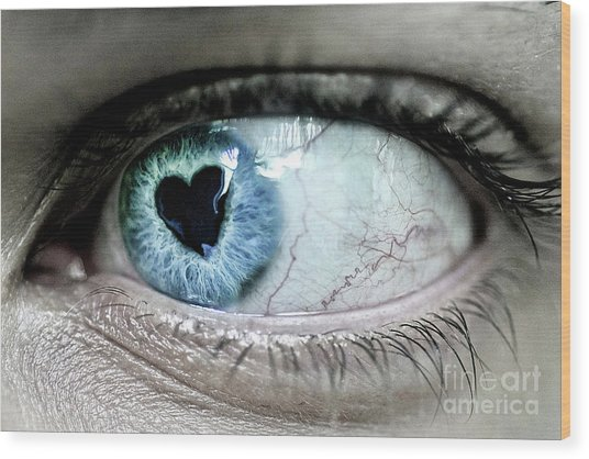 The Look Of Love Wood Print