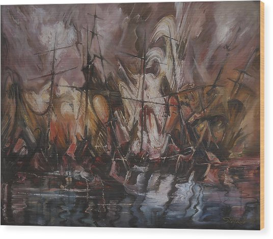 The Lost Armada IIi Wood Print