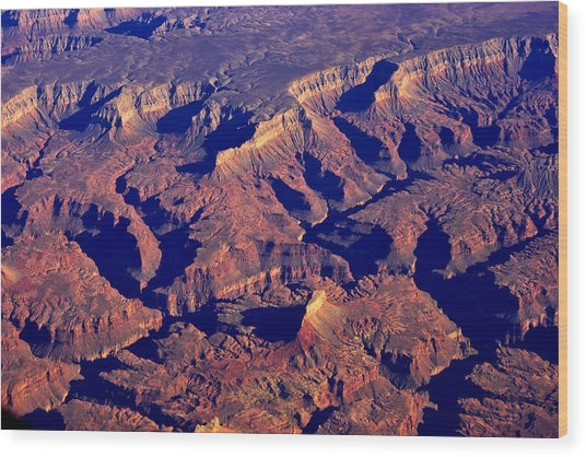 The Magnificient Grand Canyon Wood Print