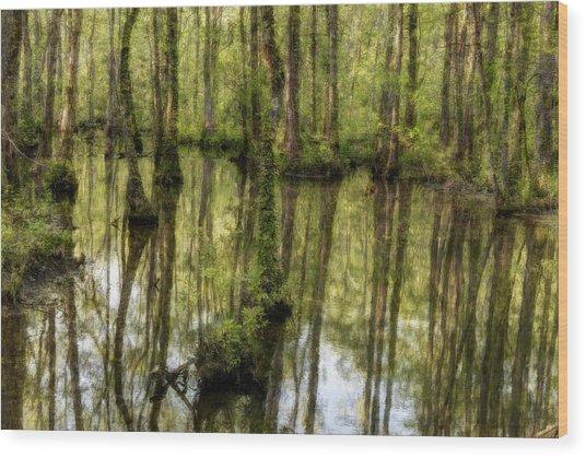 The Marsh Wood Print