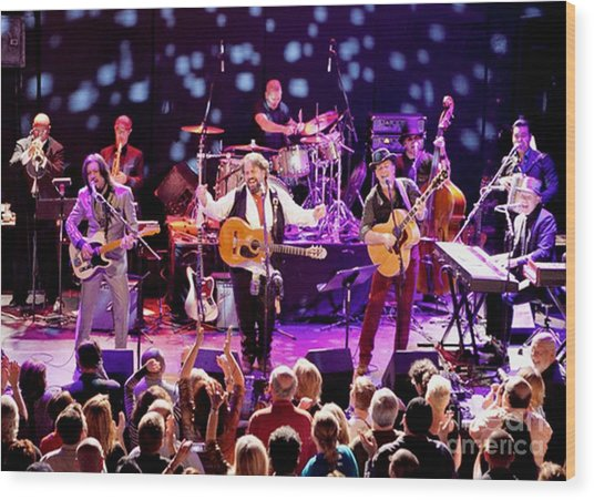 The Mavericks Live Wood Print